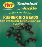 TNT Rubber Rig Beads tapered_