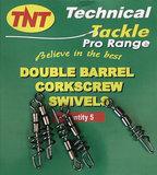 TNT Double Barrel Corkscrew swivel_