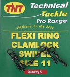 TNT Flexi Ring Clamlock Swivel Size 11_