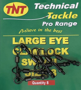 TNT Large Eye Clamlock Swivel