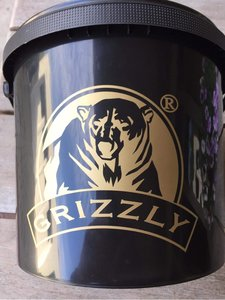 Grizzly Black Bucket 5 liter